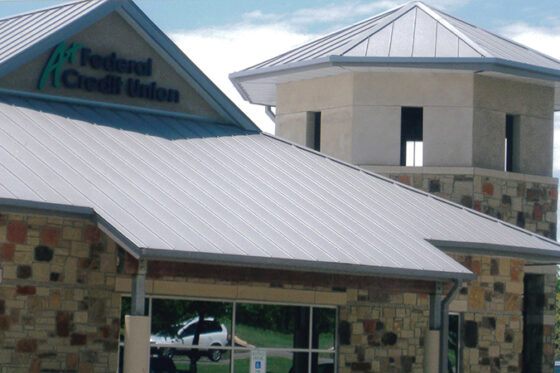 Commercial Roofing Federal Credit Union Photo