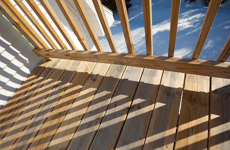 Winterizing Your Wooden Deck